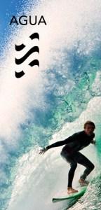 AGUA - surfeando una ola