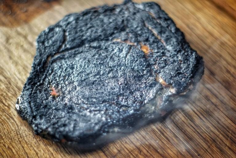 022/18: Charcoal Rubbed Rib Eye Steaks