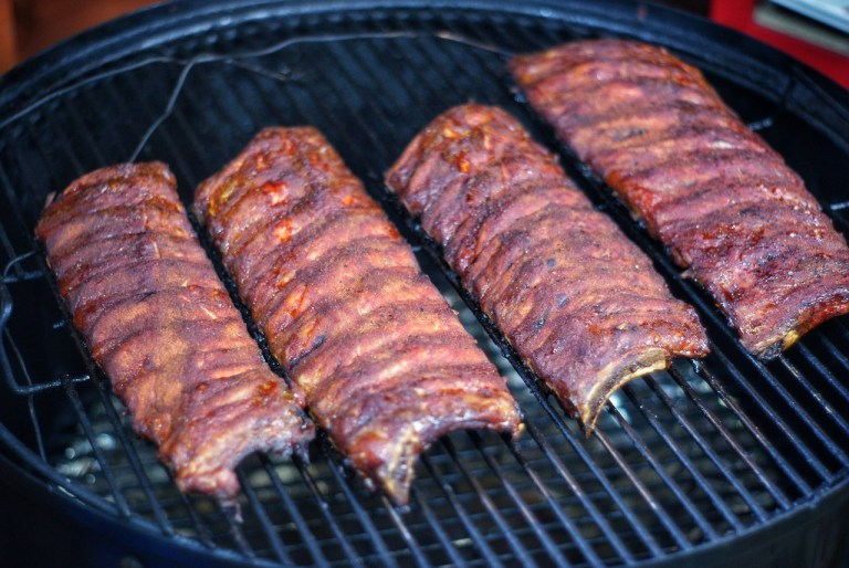 Spicy Gochujang Baby Back Ribs