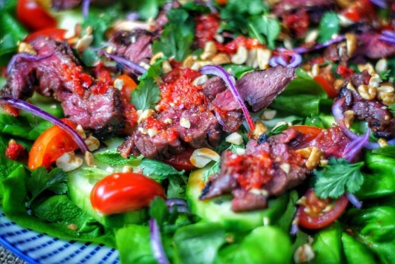 Spicy Thai Beef Salad