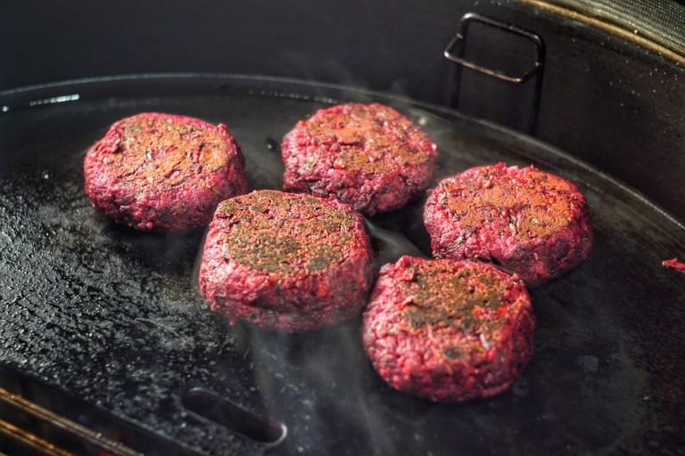 Beetroot Shami Burgers