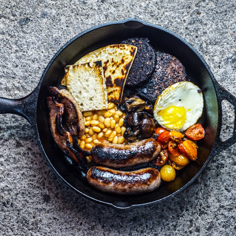 Manga Sausage Fry Up