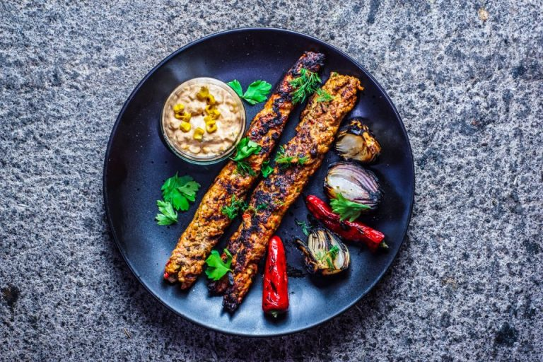 Chicken, Pistachio and Dill Kofte