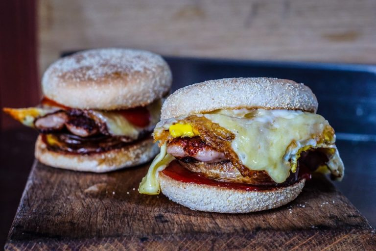 Double Egg and Sausage McChoppy Chop Muffin