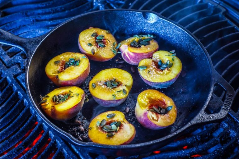 Cast Iron Peaches