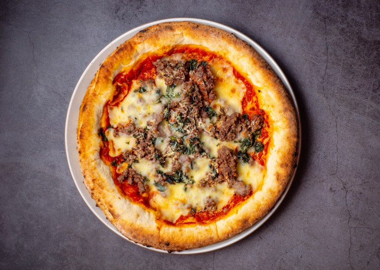lamb mince and pecorino