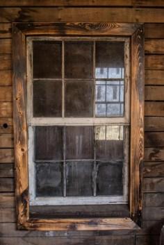 Dirty old window