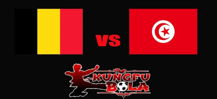 belgia vs tunisia