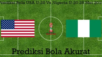 Prediksi Bola USA U-20 Vs Nigeria U-20 28 Mei 2019