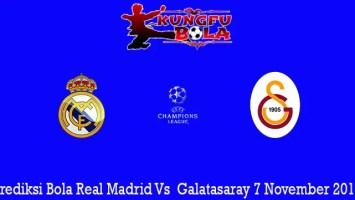 Prediksi Bola Real Madrid Vs Galatasaray 7 November 2019
