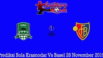 Prediksi Bola Krasnodar Vs Basel 28 November 2019