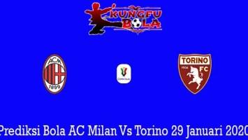 Prediksi Bola AC Milan Vs Torino 29 Januari 2020