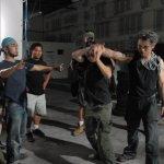 David co-ordinating fight choreography...