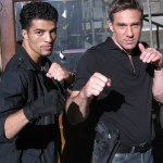 Jawed El Berni with Gary Daniels