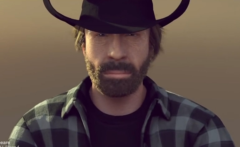 Merry Christmas from Chuck Norris!