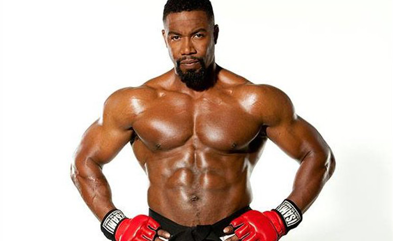 Michael Jai White gives kick and punch tips