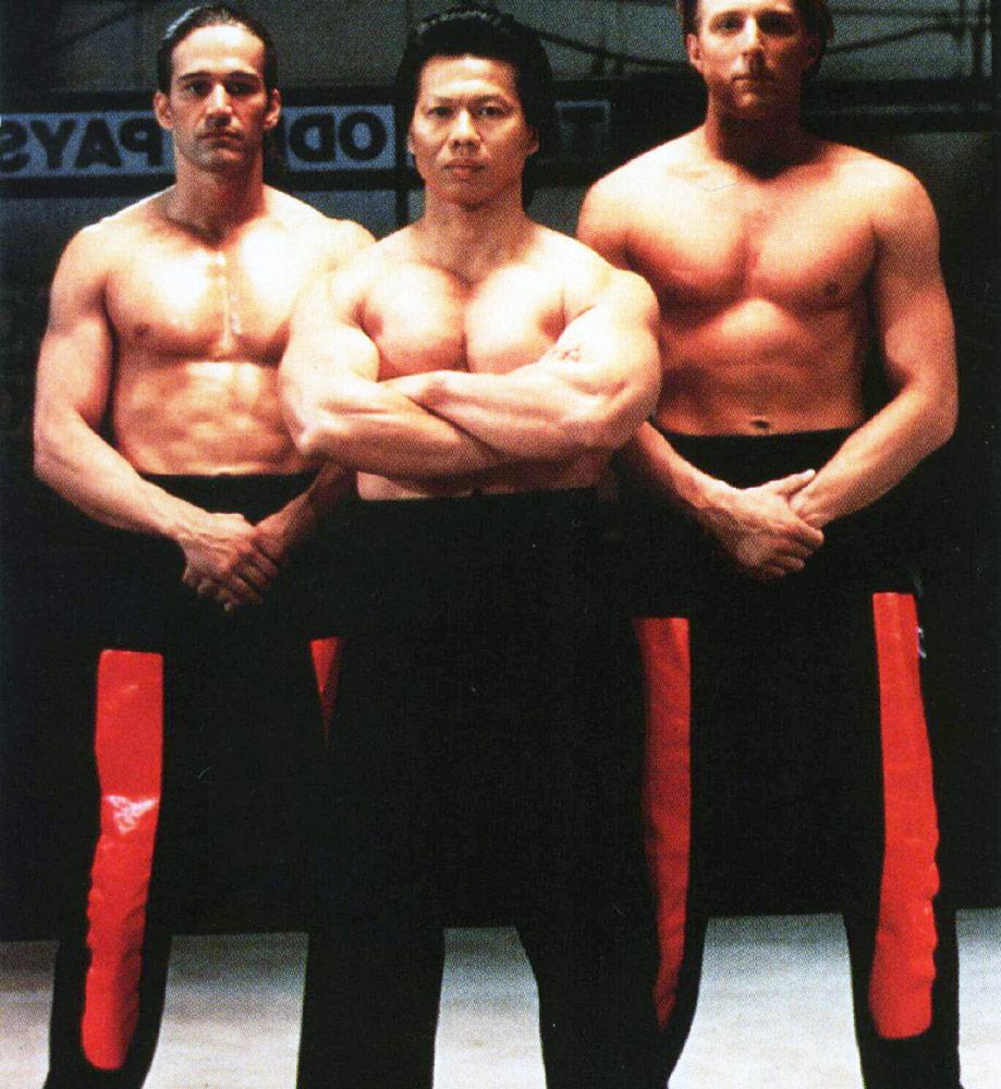Bolo Yeung bodybuilder