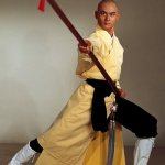 Gordon Liu in classic stance