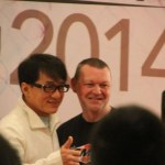 Jackie Chan and Glen Stanway