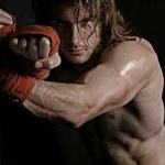Chris Howard -sparring time!