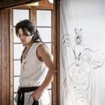 Shogen as young Gouken in SFAF