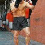 Shifu Yan Lei kickboxing training 2