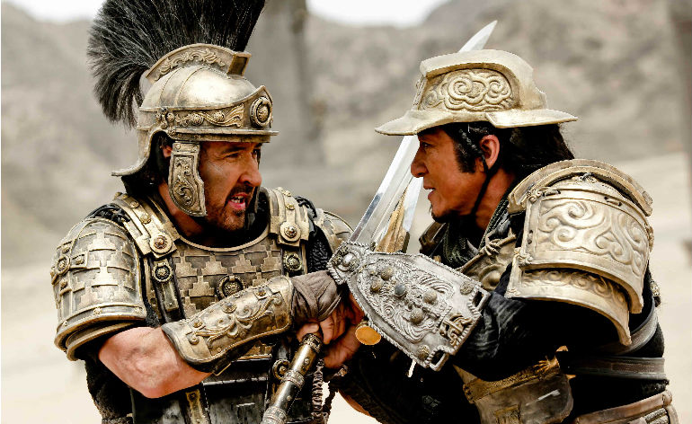 Dragon Blade trailer arrives!