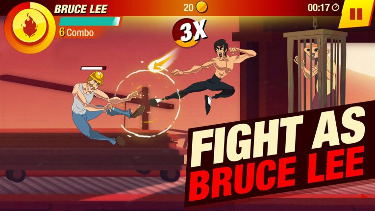 Fight as the legend Bruce Lee
