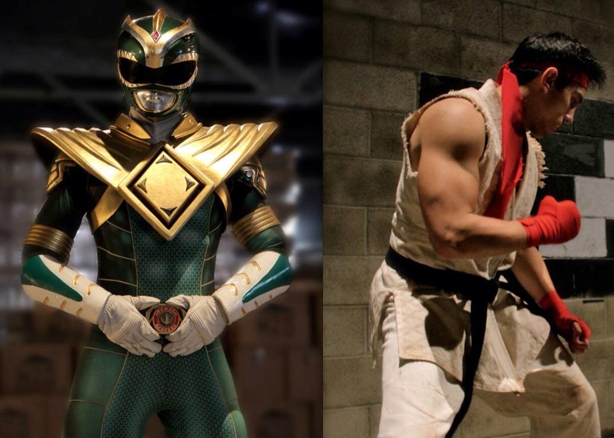 Green Ranger vs Ryu on Super Power Beatdown!