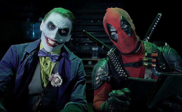 The Joker Harley Quinn Deadpool Domino