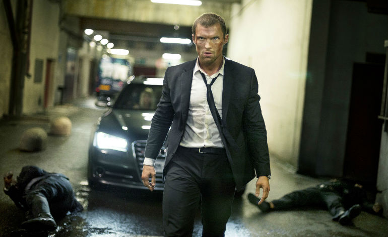 The Transporter Refueled fight clips!