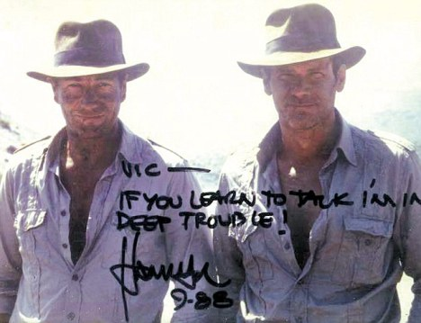 A great message from Harrison Ford!