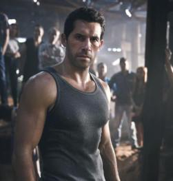 Scott is prepared for The Most Dangerous Game in Hard Target 2