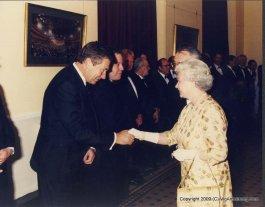 Vic meets the Queen