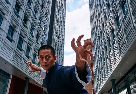 Chang Shan takes to the streets of London