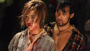 Kazu Patrick Tang with Jeeja Yanin in Raging Phoenix