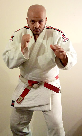 Anthony J Bailey founder of Mizu Ryu Ju Jitsu