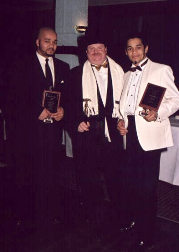Hall Of Fame 2001 with Master Richard Hopkins & Brother Jeremy Bailey