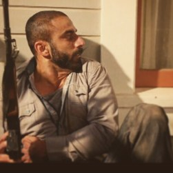 Umar in an explosive action scene in Close Range