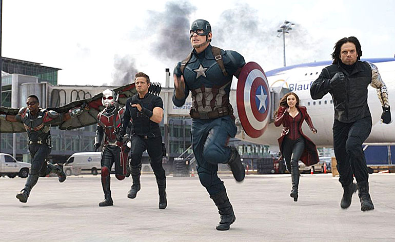 Captain America: Civil War - Kung-Fu Kingdom
