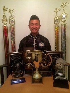 Alex has won trophies at National & International tournaments