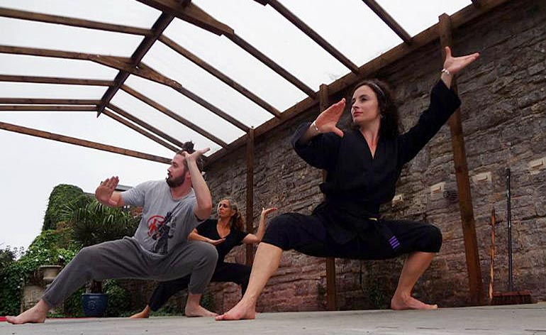 Learn Silat at Cecily Fay's Warrior School!
