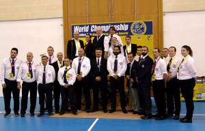 The WMKF founders, judges, and referees