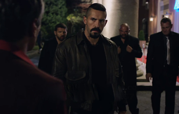 Boyka comes to free Alma from Zourab's clutches