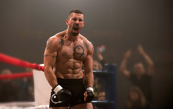 Boyka is jacked for the fight ahead