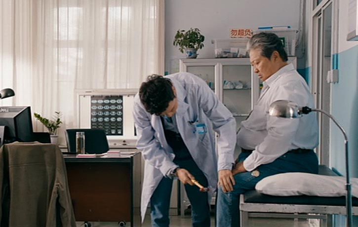 Ding Hu pays a visit to the doctor