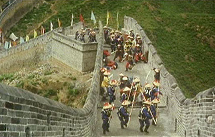 Great battle at The Great Wall