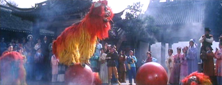 Lion Dance requires great skill and strength