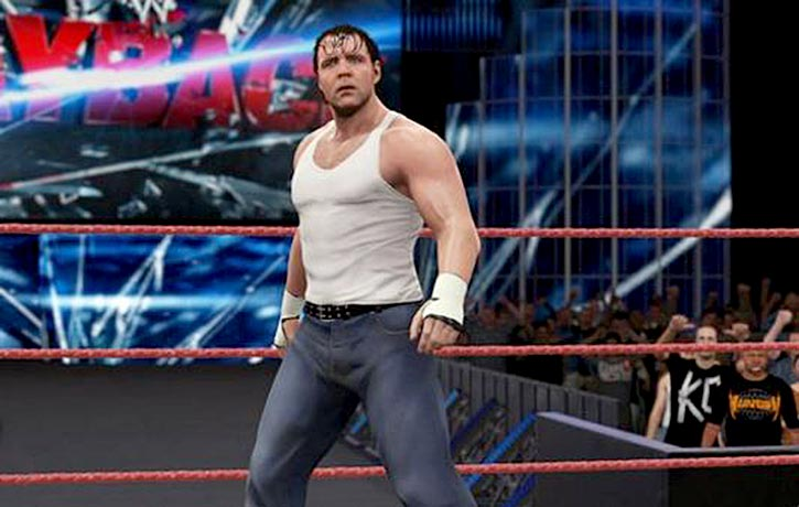 Dangerous Dean Ambrose looking for a fight