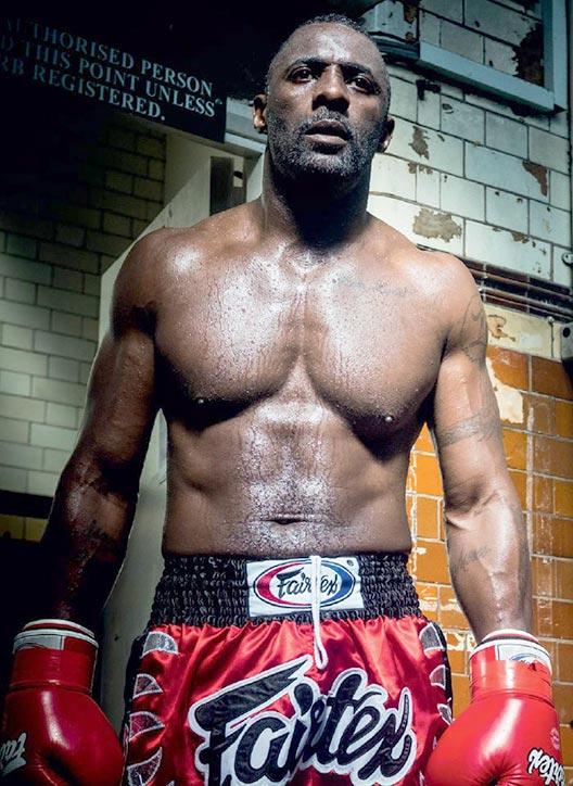Idris Elba in great shape here